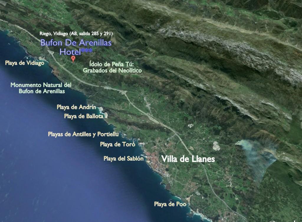 Localizacion-de-las-playas-más-cercanas-al-hotel-Bufon-de-Arenillas-1024x754 DÓNDE ESTAMOS