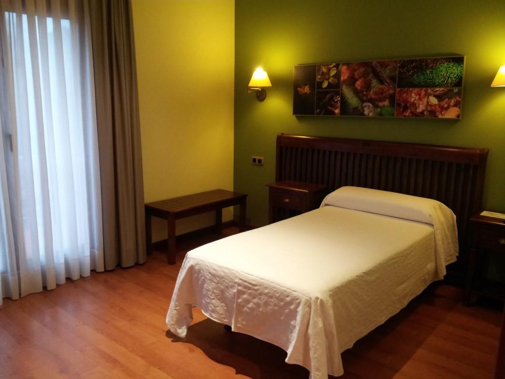 Habitaciu00f3n Individual - Hotel Bufu00f3n de Arenillas