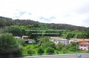 vistas orientacion sur desde el hotel Bufon de Arenillas