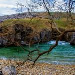 Una playa única, cuevas y un arco natural junto a una costa de impresión….Complejo de Cobijeru